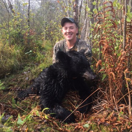 **Evan Koelar -- WI Black Bear -- Date: 9/19/19 -- Weight: 120lbs *Shot at the Merkes Mile*
